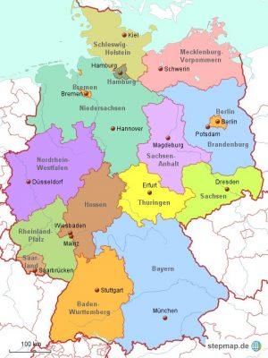 Deutschland Politisch 1338417 Karte Png Zero Waste Kiel E V