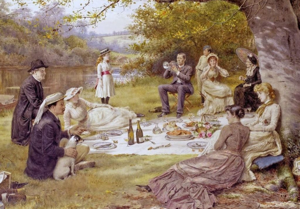 George-Goodwin-Kilburne-The-Picnic-1024